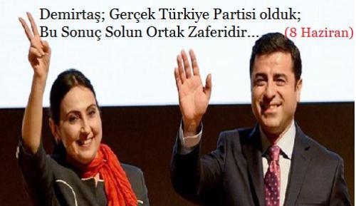 HDP Kaynıyor; Demirtaş Çırpınıyor!