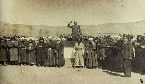 Mînaka li Ber Çavan Komara Kurdistan