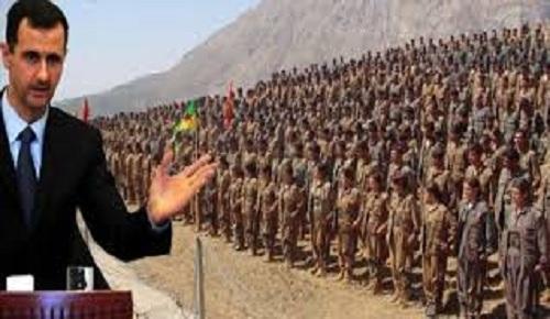 Kürd/Kürdistan Ordusu Ve İşgalcilerin Sınır Bekçileri